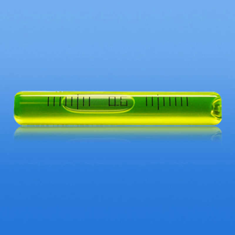 Liquid Level Measuring Instruments : Mm glass long tubular bubble level water