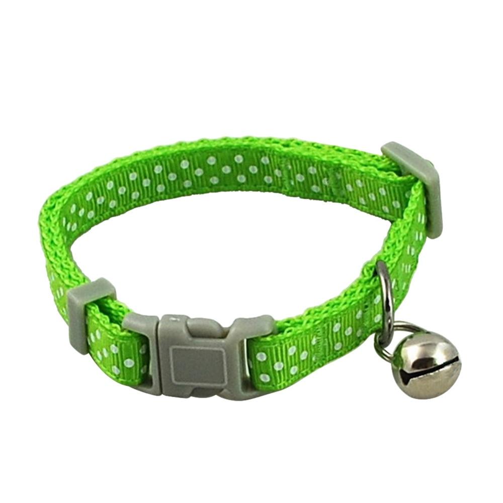 Small Pet Collar Green