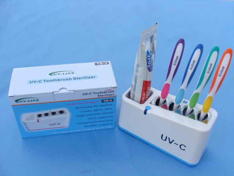 Зубные Здравоохранение дома Зубная щетка стенд УФ зубная щетка дезинфицирующее