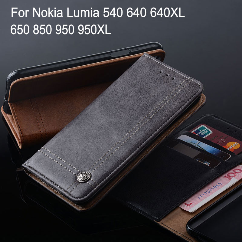 Quality In Flip Wallet Pu Leather Cases For Nokia 6 Nokia 5 3 9 7 8 Mobile Phone Case Nokia Lumia 540 650 640 950 Xl Shell Stand Card Slot Excellent