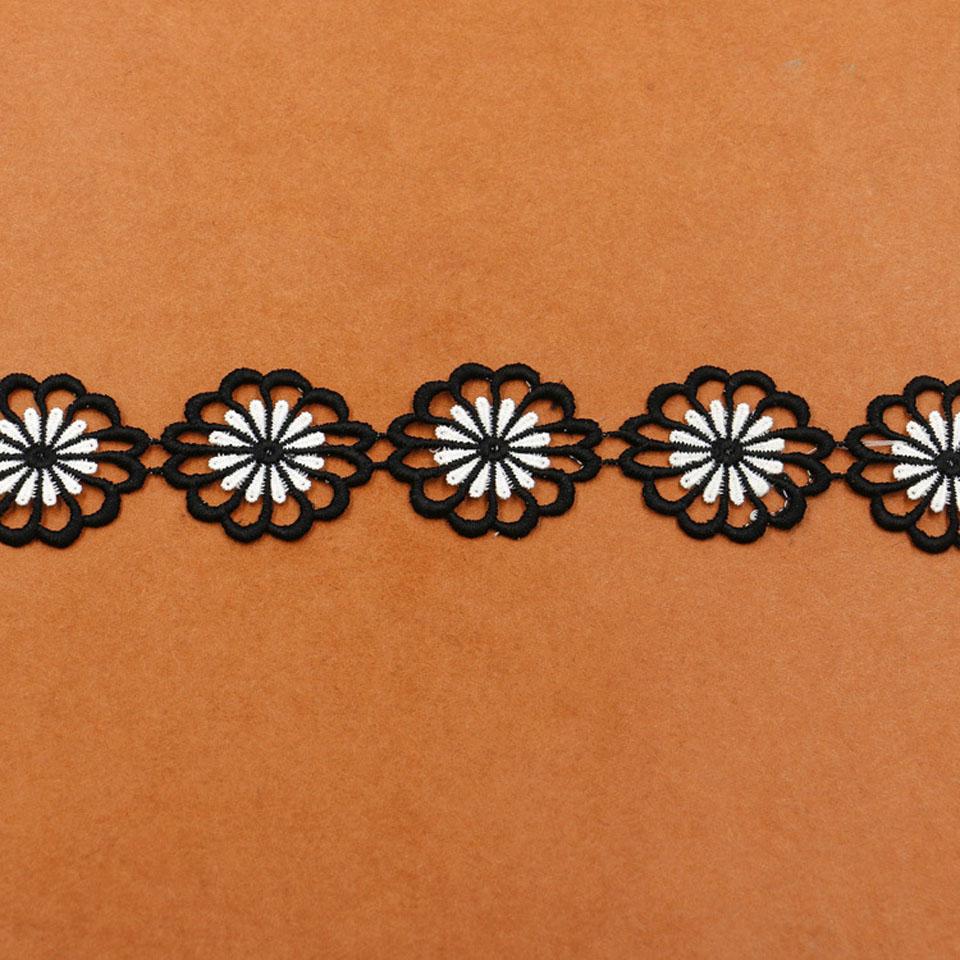 4.6cm πλάτος λουλούδι δαντέλα - Τέχνες, βιοτεχνίες και ράψιμο - Φωτογραφία 6