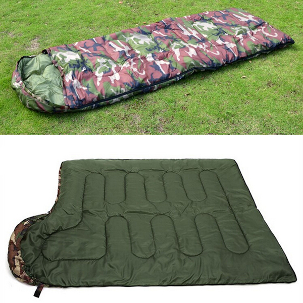 New-Sale-High-quality-Cotton-Camping-sleeping-bag-15-5degree-envelope-style-army-or-Military-or (5)