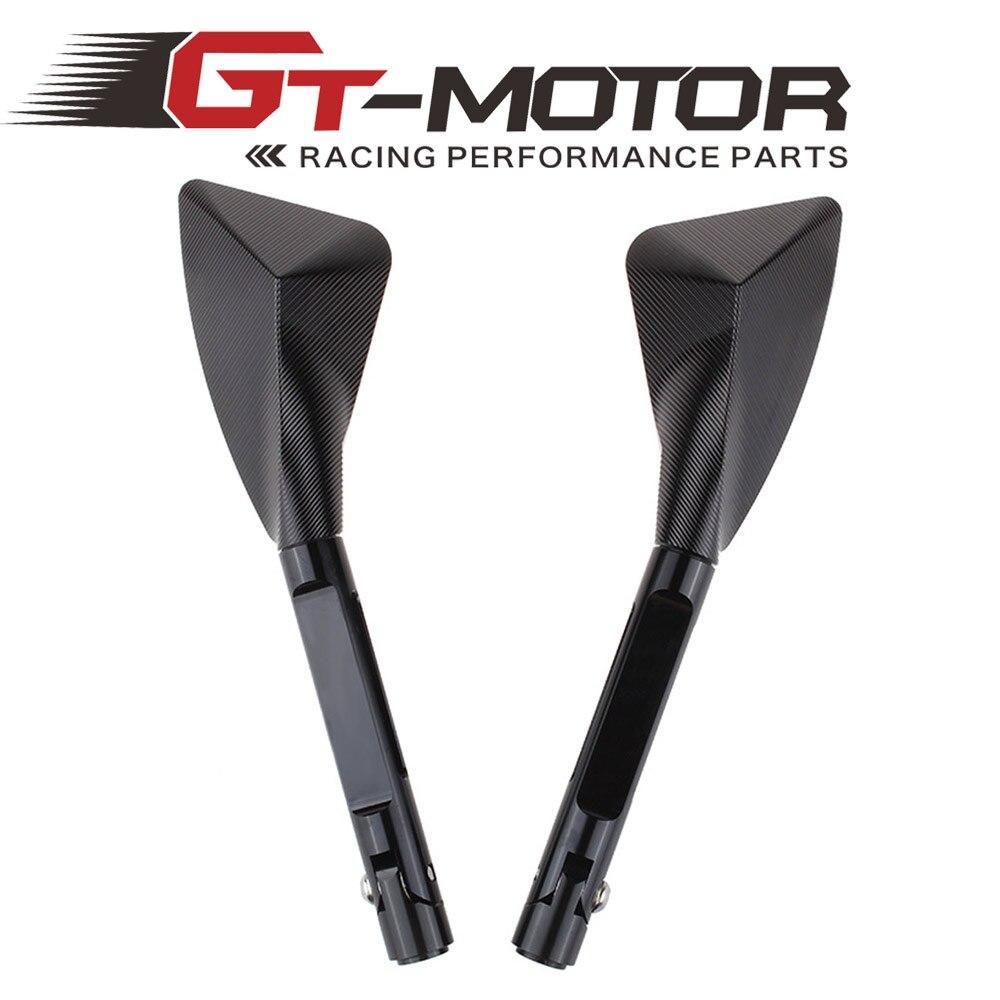 Prix pour GT Moteur-En Aluminium CNC moto rétroviseur Côté miroir