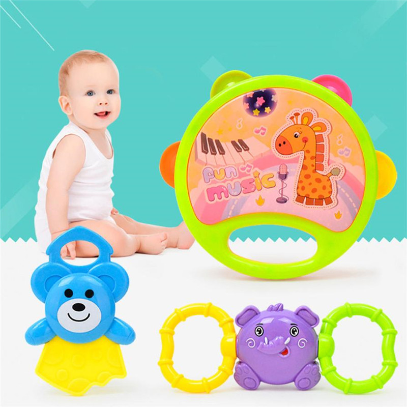 Baby Rattles toy for newborns Healthy Shaking infant toys for a stroller Early Learning Hand Bell chocalho crib mobile beanbag30
