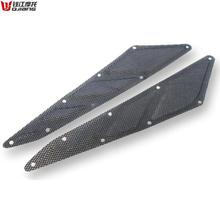 STARPAD For Qianjiang Motorcycle Genuine Parts silver edge BJ250T-8 before the big hood grille free shipping