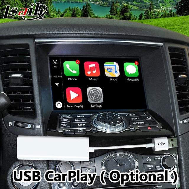 Android 7.1 GPS Navigation Box for 2015-2018 Infiniti QX70 integration video interface ,youtube  google play waze etc. 1