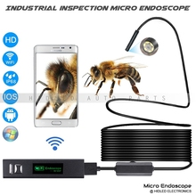 1200P HD Wifi Industrial Inspection Micro Endoscope For Phone, Pad And PC