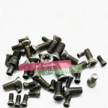 M2*6 M2.5*6 M2.5*8 M3*8 M3*10 M3*12  M3.5*10 M3.5*12 M4*10 M5*10  Insert Torx Screw for Replaces Carbide Inserts CNC Lathe Tool