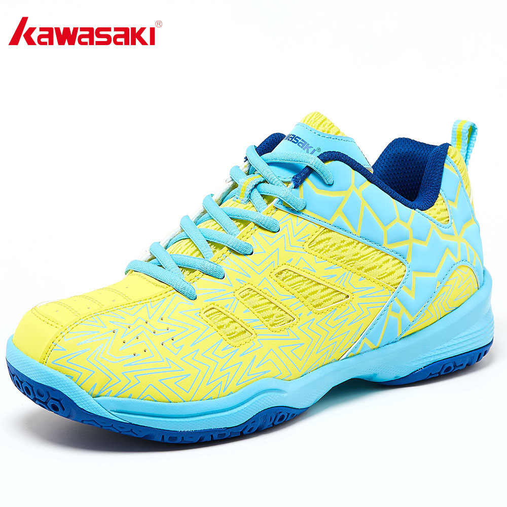 2019 Kawasaki Badminton Shoes Women and Men Professional Sports Shoes for Women Breathable Indoor Court Sneakers K-075
