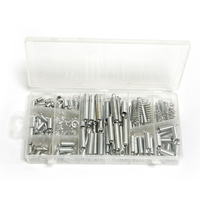 200pc Steel Spring Compression Extension Spring Assortment