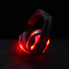 Купить с кэшбэком Best Gaming Headset Gamer casque Deep Bass Gaming Headphones for PS4 Computer PC Laptop Notebook Xbox One with Microphone LED