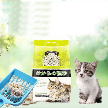 Nature Cat litter Free Additive Pure Nature tofukasu Cat Litter Pellets No dust , deodorant, Odor removal , Water absorption 1
