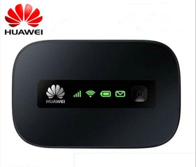 Оригинальный Новый бренд HUAWEI E5332 HSPA + 21.6 Мбит sim-карты Портативный 3 Г Wi-Fi Модем-Маршрутизатор