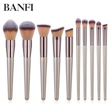 Makeup Brushes Brush Soft Blending Powder  10 Type Foundation Blush Make Up Brush Eyeshadow Cosmetics Tool rose gold powder blush brush professional single soft face make up brush large cosmetics makeup brushes foundation make up tool
