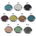 100pcs Engraved Cosmetic Compact Mirror Crystal Magnifying Make Up Mirror Wedding Gift for Guests Free shipping
