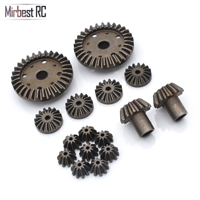 8/16pcs Metal Differential Gear For WLtoys 12428 12429 12423 1/12 RC Car Upgrade Parts Front And Rear Axle Parts