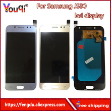 Youqi Amoled Replacement LCD For Samsung Galaxy J5 2017 LCD J530 J530F SM-J530 LCD Touch Digitizer Assembly