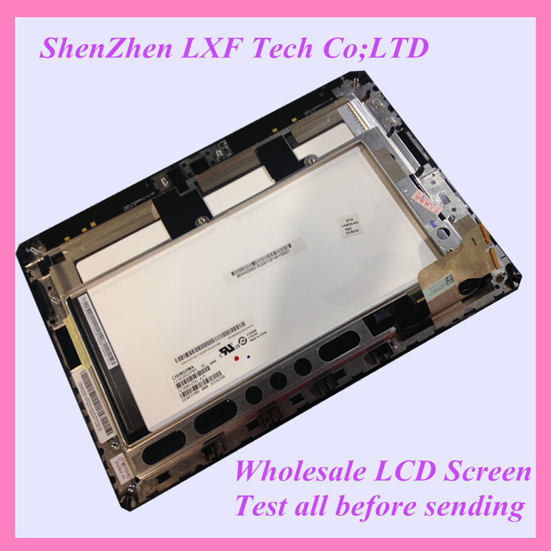 ФОТО 10.1''Tablet LCD Full LCD Display Panel Touch Screen Digitizer Assembly + Frame Replacement For ASUS ME302 ME302KL 5425N FPC-1