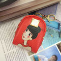 Cartoon Figure Small Leather Coin Purse Keychain Change Purse Pendant Car Key Wallet Key Chain Free Shipping
