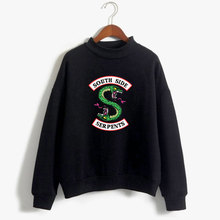 Long Sleeve Sweatshirt Casual Clothing south side serpents