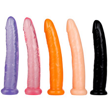 17CM Huge Realistic Horse Dildo Penis With Strong Suction Cup Masturbator Anal Dildo No Vibrators Anal Plugs Sex Toys For Women(China)