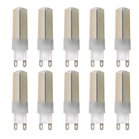 10Pcs Dimmable In 3 Color Temperature 3W G9 Capsule Led Bulb Replace Halogen Light Lamp Halogen