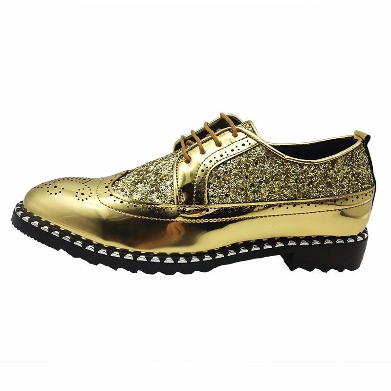 Moda Pontas Mens Pé Boi Lace Couro Do Oxfords up Zapatos Dedo Vaca Luxo Sapatos De Sapato Da Festa Vestidos Casamento Respirável Brogue vgdgOqx