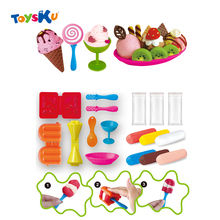 DIY Play Doh Plasticine Polymer Clay Play Dough Tools Kit Educational Toys For Children Kids
