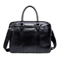 2019 Promotion Simple Business Messenger Men Briefcase Bag Leather Computer Laptop Handbag Men's Travel Bags handbags bolsa