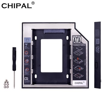 CHIPAL Universal SATA 3.0 2nd HDD Caddy 12.7mm for 2.5