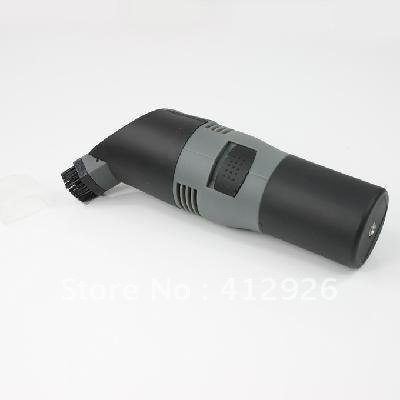 free shipping!!!new Electric Power Car Dust Brush Vacuum Cleaner Collector Grey & Black 901745-HP-LG-064