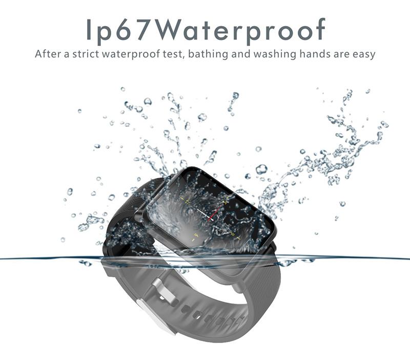 Reloj inteligente IP67 con Monitor de ritmo cardíaco 15