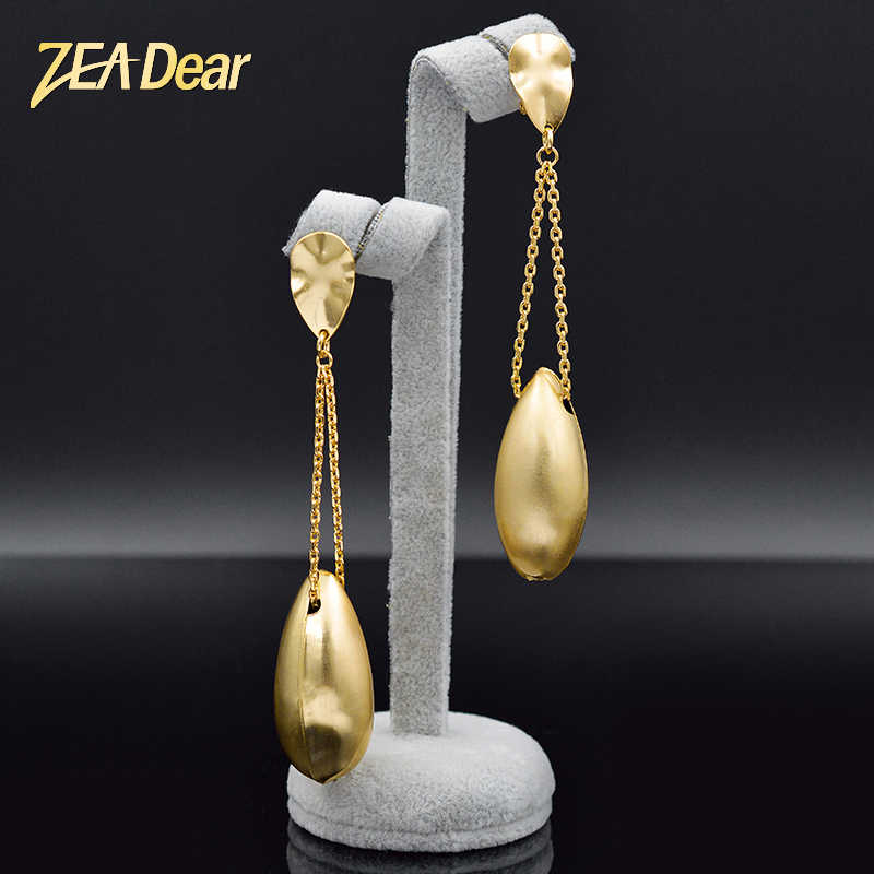ZEADear Jewelry Classic Earrings For Women Long Drop Dangle Earrings Dubai Fashion Earrings For Party Water Drop Jewelry Gift