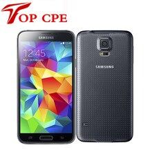 Восстановленное в исходном разблокирована samsung galaxy s5 sm-g900 g900f g900h g900a quad-core wi-fi 5.1 дюймов 16mp камера gps сотовые телефоны