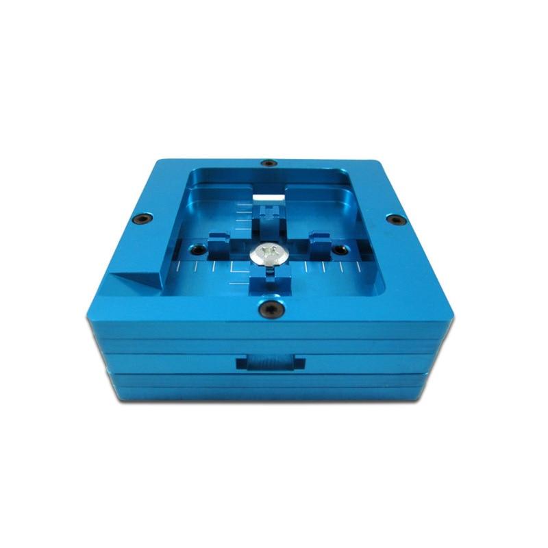 Free Shipping 80x80mm BGA Reballing Station Dual Frame 80mm Stencil Templates Holder