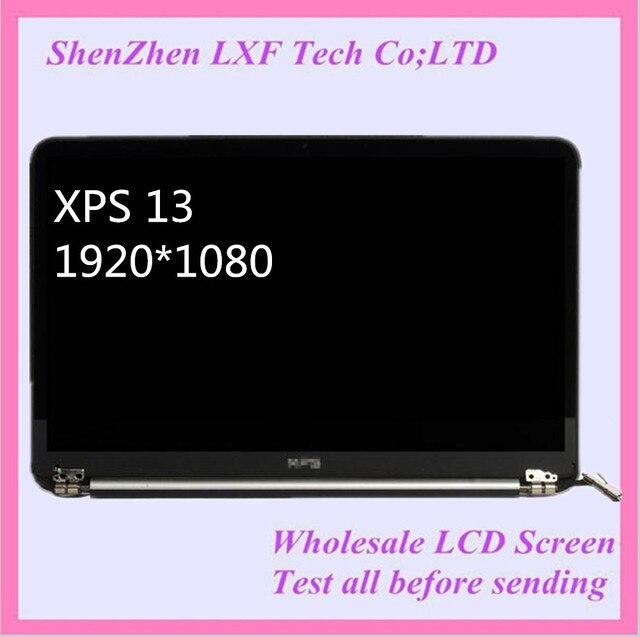 """Бесплатная доставка 13.3 """"ноутбук жк светодиодный экран ассамблея полный набор для DELL XPS 13 L322X Ultrabook D13B ЖК СБОРКИ 1920*1080"""