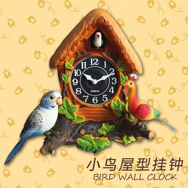 Online Shop Crafts Arts Home decoration European cuckoo clock Cuckoo ...