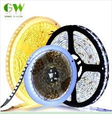 HTB1uE4qaQH0gK0jSZPiq6yvapXaK RGB LED Strip Light 5050 2835 DC12V Neon Ribbon Waterproof Flexible LED Diode Tape 60LEDs/m 5M 12V LED Strip for Home Decoration