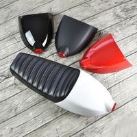 Retro Modified for CG Honda Yamaha Cafe Racer Motorcycle Seat hump tail light rear saddle pad package cushion waterproof