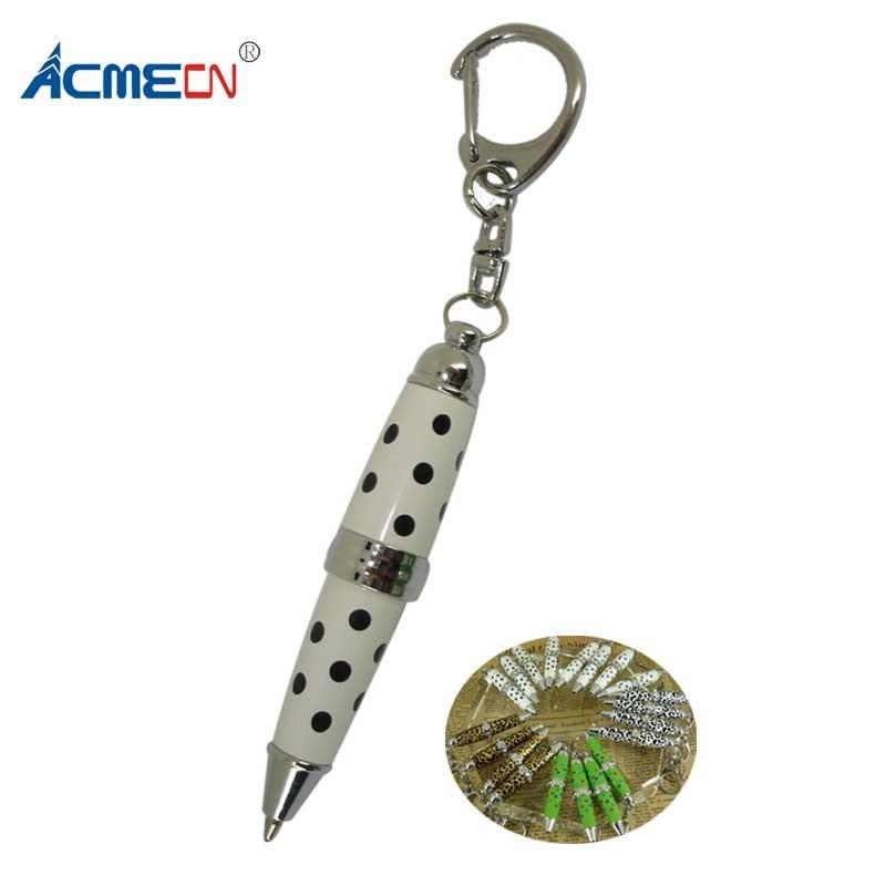Funny Pen 65mm Length 7 colors Mini Ball Pen Zebra Dots Leopard Pattern Cute Pen for School Mini Color Pen Office Accessories sprut mikari 7 16g 65mm lbk