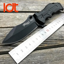LDT Walther P99 Folding Blade Knife 7Cr13Mov Blade Glass Nylon Plastic Handle Camping Outdoor Survival Tactical Knives EDC Tools