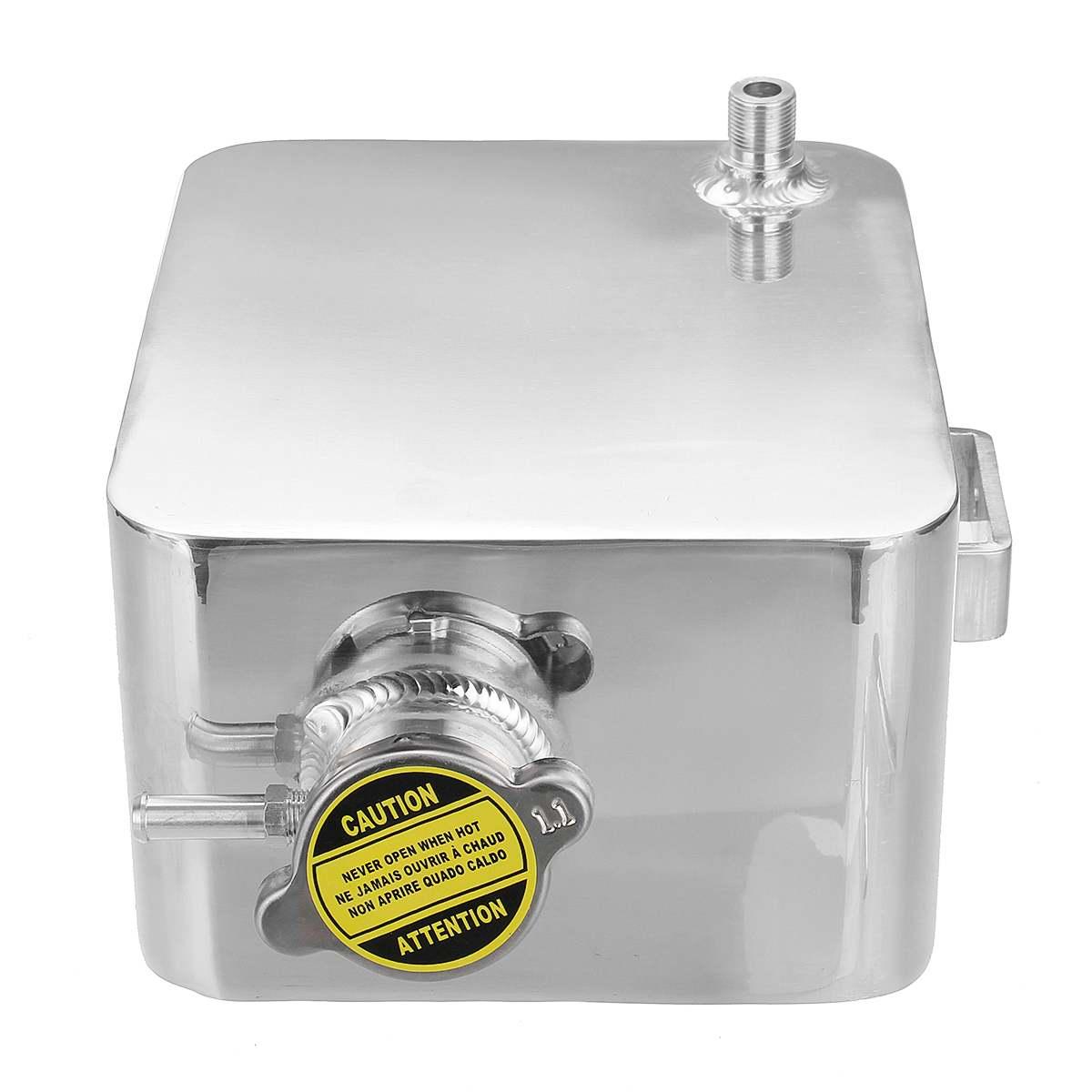2.5L alliage aluminium réservoir d'eau liquide de refroidissement universel réservoir de débordement réservoir Kit refroidisseur Automobile voiture arrosoir vase d'expansion - 3