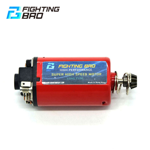 FightingBro MAX TORQUE MOTOR LONG TYPE High Torque Strong Magnet For Airsoft AEG Paintball