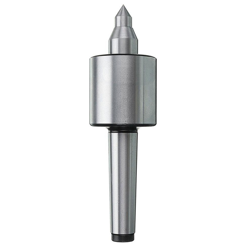 Precision Mt2 Lathe Live Center Taper 0.000197 Inch Long Spindle #2 Cnc Milling Tool 141X40Mm Wood Lathe Tool