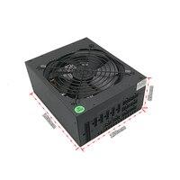 ПК сервер Шахтер модульный источник питания 1800 W компьютер atx PSU Эфириума Bitcoin горной машины для RX 470 480 570 1060 6 видео карты