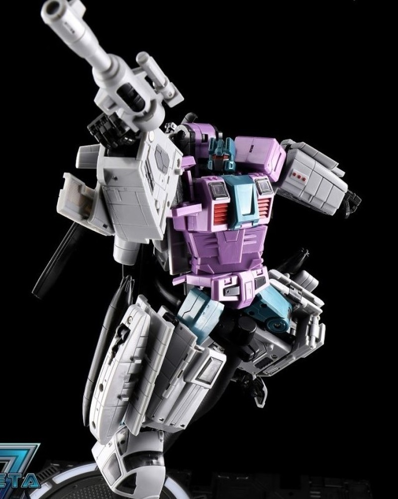 Transformation ZA-02 Whirlblade Armeggedon Combiner Combaticons Left Hand Helicopter BRUTICUS Action Figure Zeta Model Toys