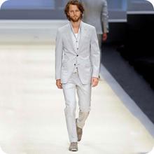 Новое поступление 2019 серые бриджи мужские костюмы с брюками