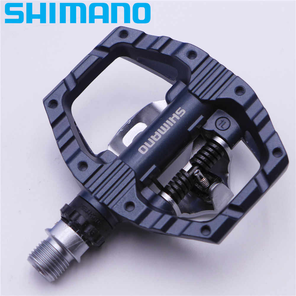 ee2b57dfd13 ... SHIMANO PD EH500 Dual-Sided Platform / Clipless SPD Pedals with Cleat  SM-SH56 ...