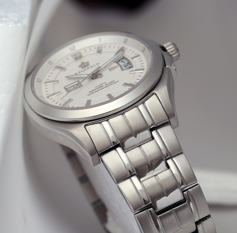 watches men transparent skeleton silver new image larger sewor see white product