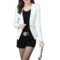TFGS New Spring Autum Women Slim Blazer Feminino Coat Casual Jacket Long Sleeve One Button Suit